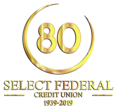Select Federal Credit Union celebrates its eightieth anniversary this year.