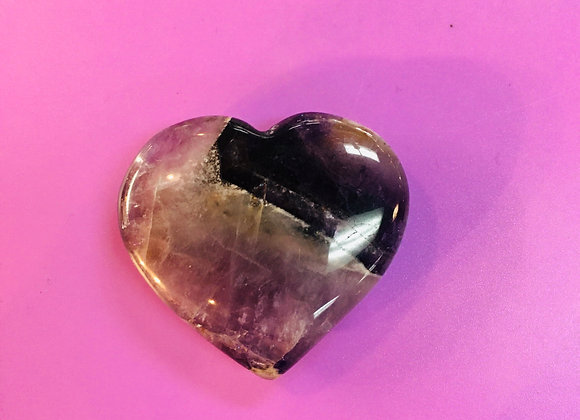 Amethyst Heart- Tumbled