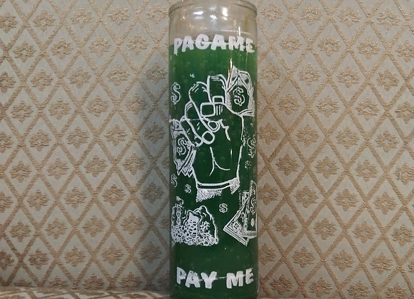 Pay Me Prayer Candle