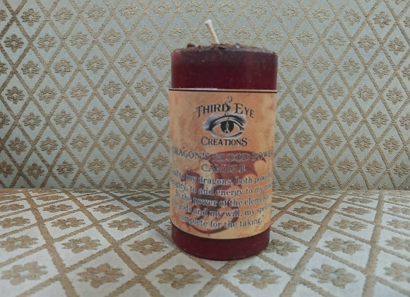 Dragons Blood Power Votive Candle