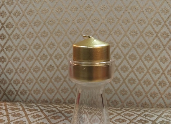 Gold Metallic Votive Candles 1.5 in