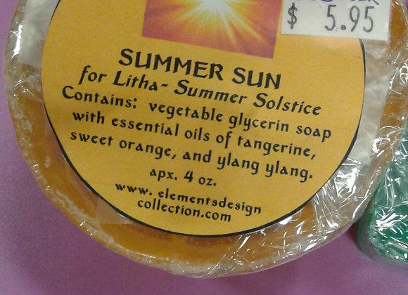 Summer Sun Soap