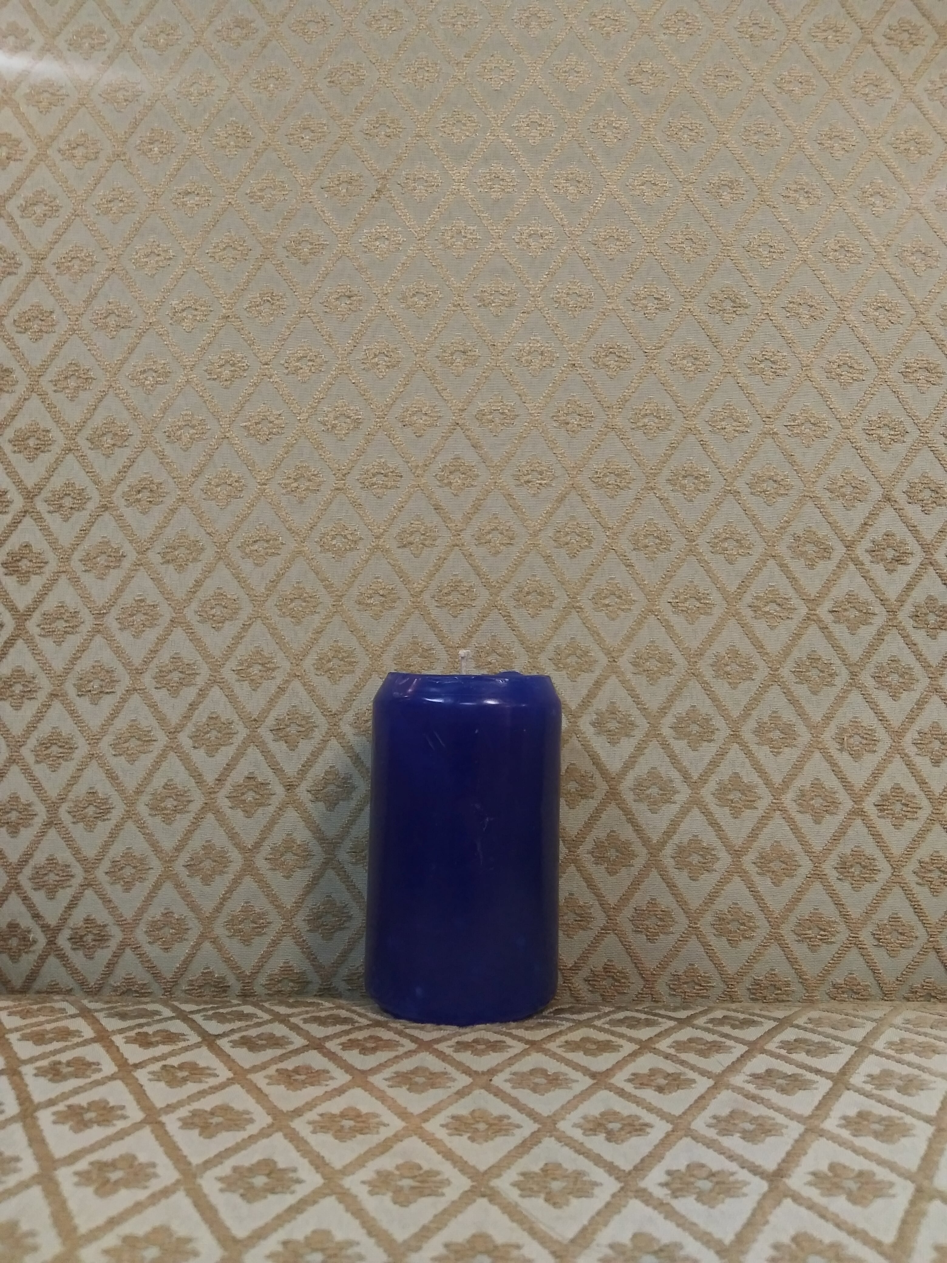 Pillar Candle 4.5 in Blue