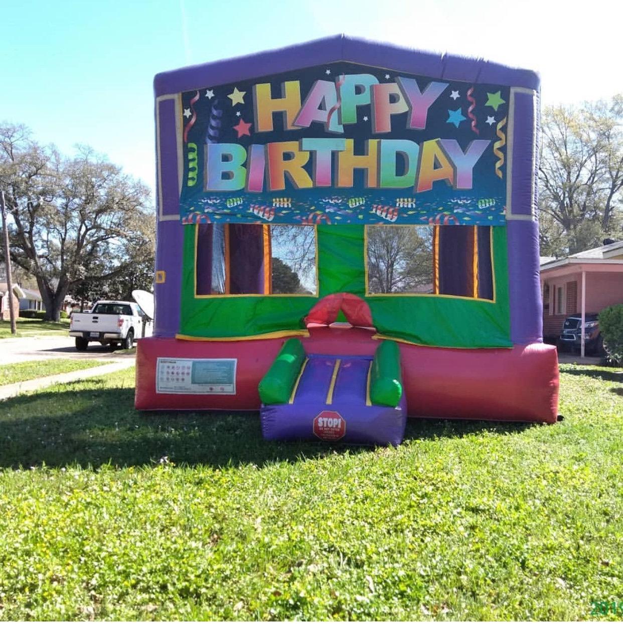 Happy Birthday Bounce House