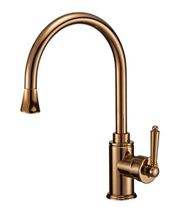 A-8724 Kitchen Faucet in Rose Gold