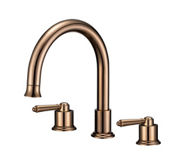 A-8732-3 Sink Faucet in Rose Gold