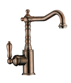 A-714 Kitchen Faucet in Brass