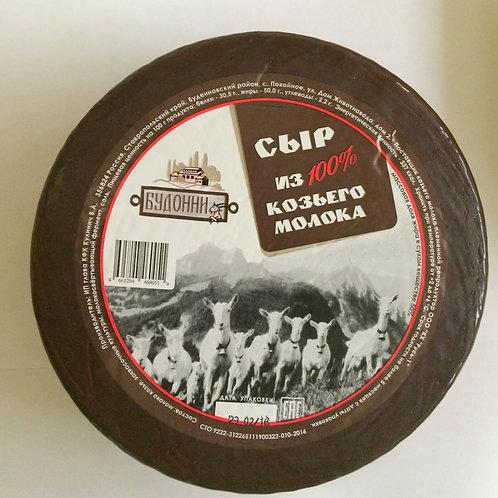 """Сыр полутвердый """"Будонни"""" из козьего молока м.д.ж. 50%"""