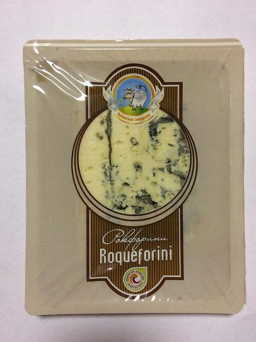 """Сыр """"Рокфорини"""" с голубой плесенью м.д.ж. 50%"""