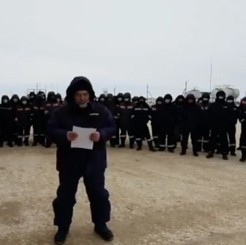 KAZAKHSTAN – Wild strikes of the oil and mining workers