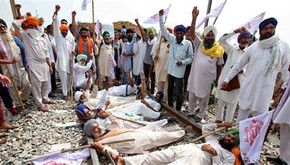 INDIA – Peasants Protests Support Political Prisoners