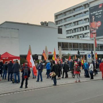 GERMANY - Rally in support of Dr. Banu Büyükavci