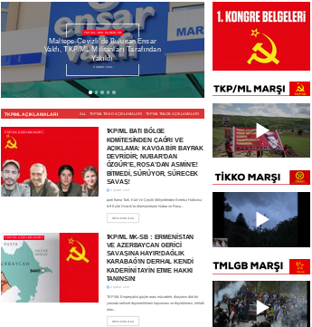 TURKEY - New Website of the TKP/ML