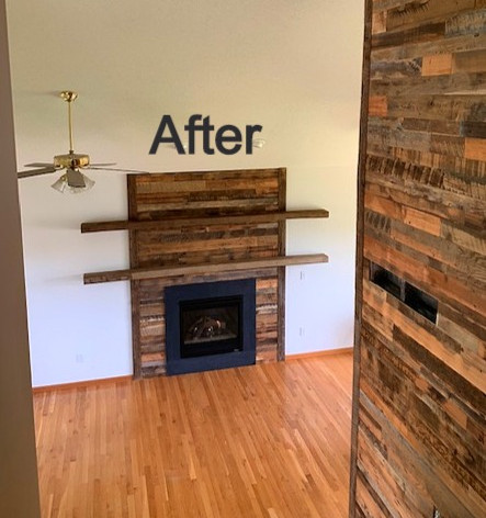 Hearth & Home Solutions Fireplace Remodel
