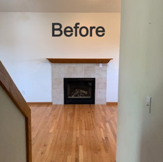 Before Hearth & Home Solutions Fireplace