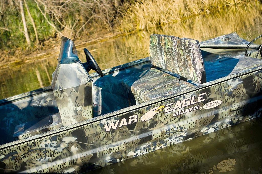 War Eagle Sportsman 860 Boat