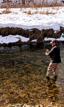 Year-round angling at Bloody Run in Marq