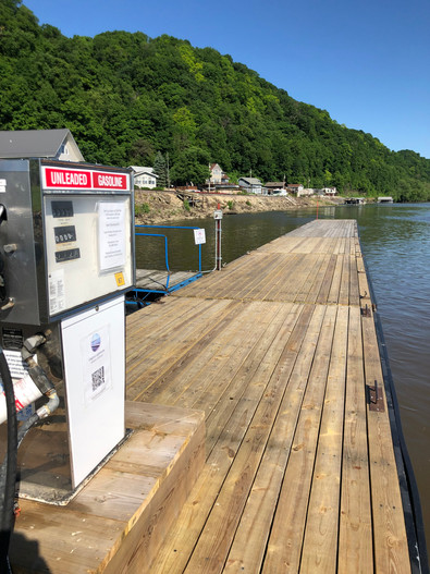 Dockside Unleaded Gas for your boat