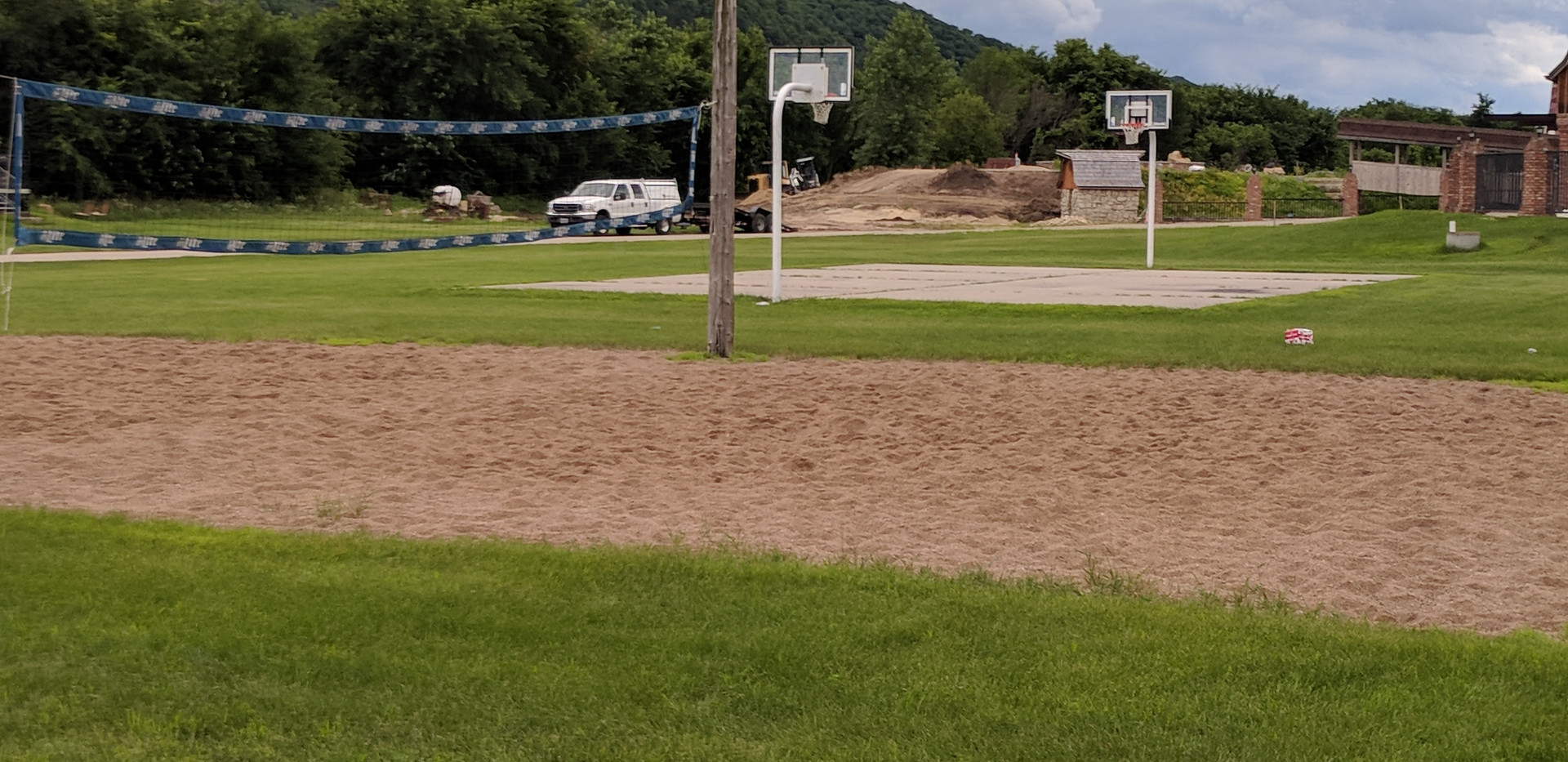 Volleyball and Basketball