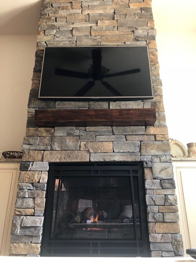 Fireplace & Hearth Remodel