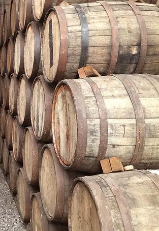 Wine Barrels in Marion Iowa