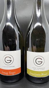 2018 Lionel Gosseaume Gamay & 2019 2018 Lionel Gosseaume Sauvignon Blanc, Loire, France