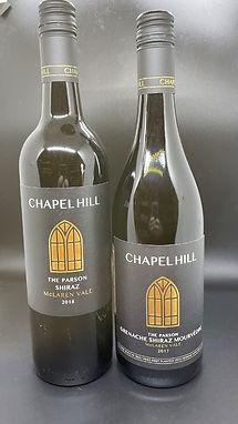 2017 Chapel HIll GSM & 2018 Chapel Hill Shiraz, McLaren Vale, Australia
