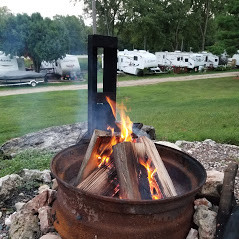 Fire pits for all vacation rental cabins