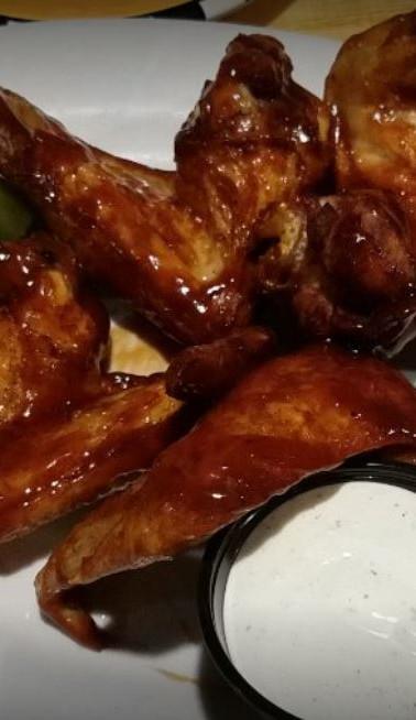 wings @ Edith Lucielle's Cedar Rapids Iowa