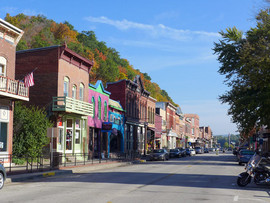 Main Street McGregor Iowa