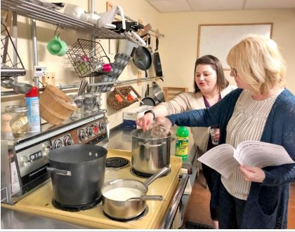 Cooking classes grow confidence in the kitchen