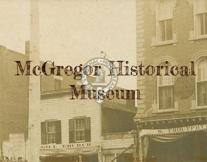 McGregor Historical Society