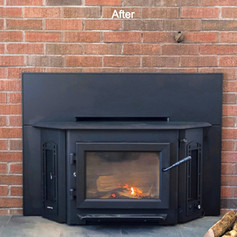 After Hearth & Home Solutions installed