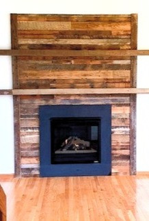 Hearth & Home Solutions Built Fireplace