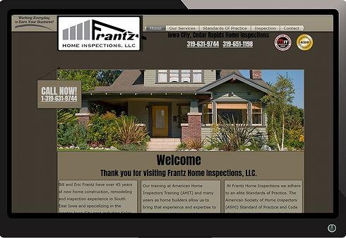Frantz Home Inspections Website by Illuminate Digital