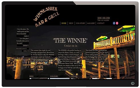 the winnie website built by Illuminate D