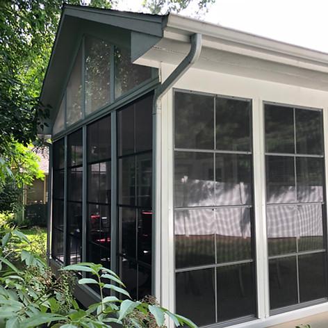 Exterior of a Patio built by Heath & Hom