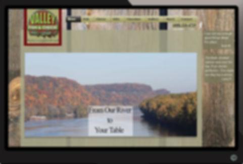 Valley FIsh Website built by Illuminate Digital, Cedar Rapids, Iowas