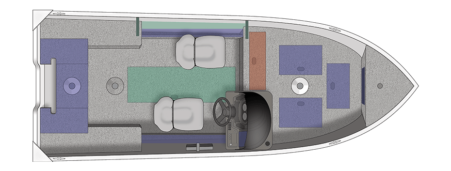 floorplan-overhead of Crestliner