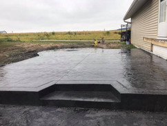 Stamped concrete Prairie du Chien and Pl