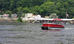 Boating on the Mississippi River