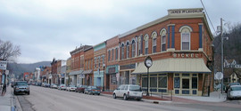 McGregor Iowa, Bickel Building