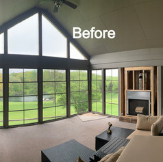Before Hearth & Home Solutions Remodel