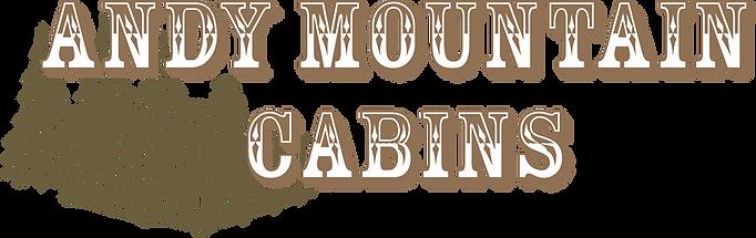 Andy Mountain Cabins-LOGO Brandon Lee Wh