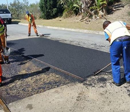 3000.Maintenance of road