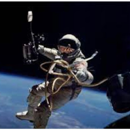 How do astronauts walk in space?