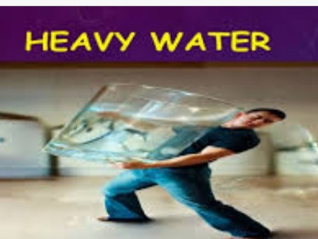What is heavy water?