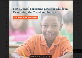 State Dental Screening Laws