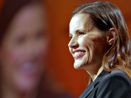 #34 quote Inspirational quote by Geena Davis.