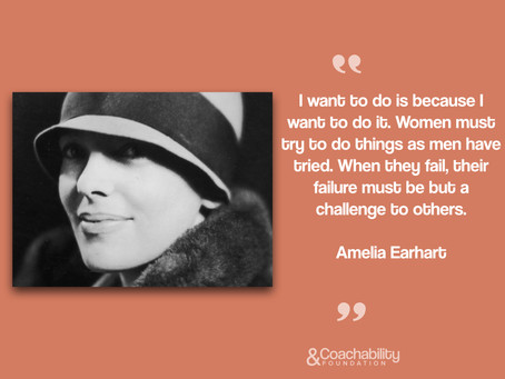 #Quote11.Inspirational moment by Amelia Earhart